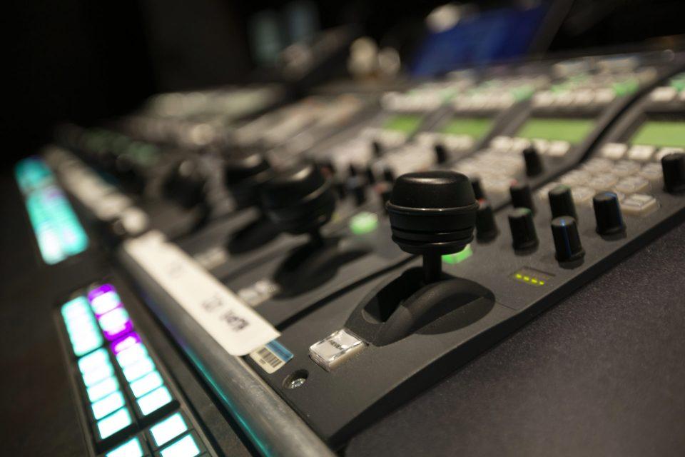 camera control room