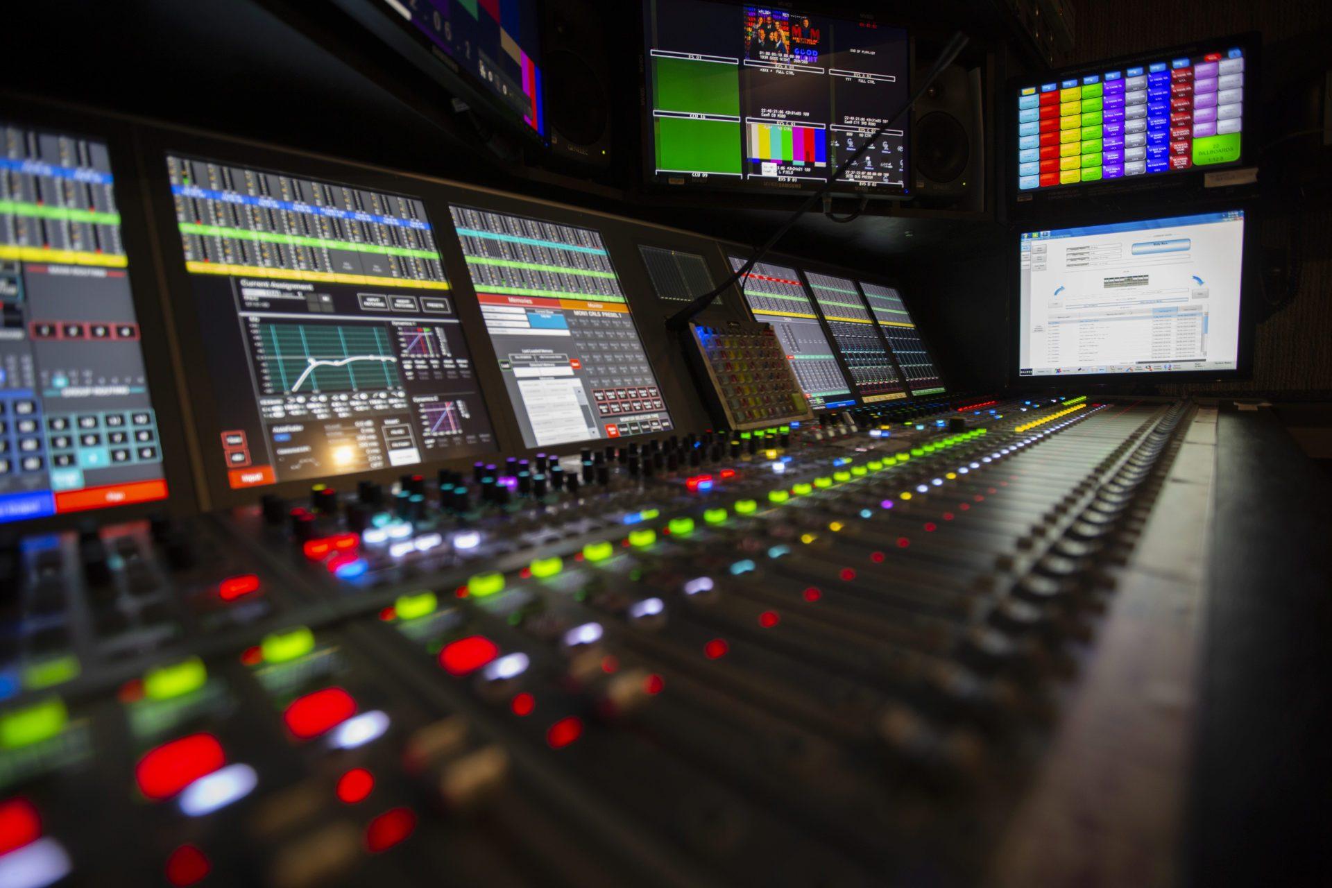 control room close up